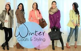 styling winter coats u0026 layering youtube