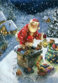 christmas santa claus клуб рукоделия handmade открытки santa