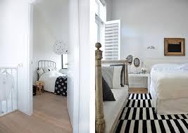 chambre noir et blanche best peinture noir et blanc chambre gallery amazing house design