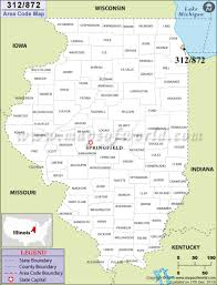 Us Zip Code Map 312 Area Code Map Where Is 312 Area Code In Illinois