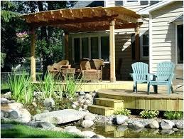 Diy Backyard Deck Ideas Backyard Awning Ideas Permanent Deck Awnings Ideas Indoor And