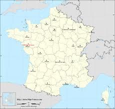 Desert Map Road Map Saint Mars Du Desert Maps Of Saint Mars Du Désert 44850