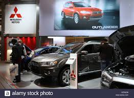 mitsubishi car mitsubishi car show room stock photo royalty free image 43539028