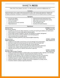 exle of a chronological resume tow truck driver resume objective exle home templates a i