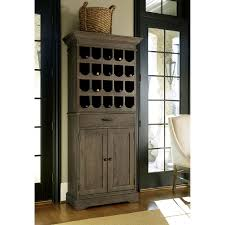 picture of tall wine rack cabinet put in an empty tall wine rack