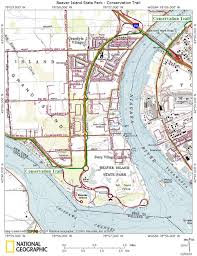 Niagara Falls State Park Map by Beaver Island State Park