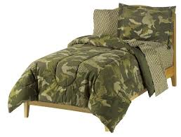 Army Bed Set Green Camo Camouflage Bed In A Bag 7pc Bedding Set Sheets