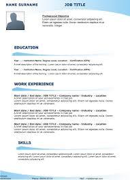 free sample resume original resume 27 examples of resumes