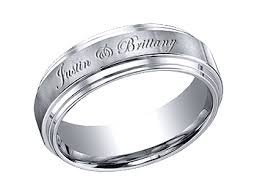 custom engraved wedding bands wedding bands personalized