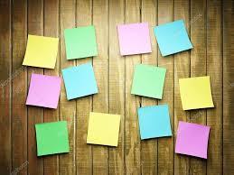 blank sticky notes u2014 stock photo shenki 7495663