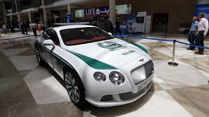 bentley coupe gold dubai police own world u0027s fastest police car cnn style