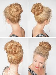 hairstyles with a hair donut 30 curly hairstyles in 30 days day 23 hair romance