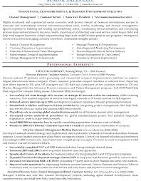 Customer Care Executive Resume Sample by Download Executive Resume Samples Haadyaooverbayresort Com