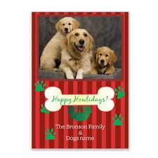 howlidays photo christmas card