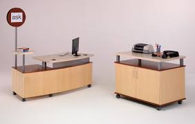 Desk Reference System by Technolink Mobile Reference Desk Demco Interiors