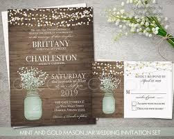 jar wedding invitations 747 best 1 rustic wedding invitations designs 2017 images on
