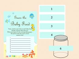 baby food game baby food jar labels guess the baby food