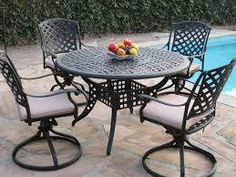 Outdoor Aluminum Patio Furniture Patio Chairs Black Patio Furniture Outdoor Seating Cast Aluminum