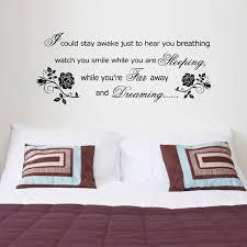 bedroom lyrics romantic wall stickers bedroom decor aerosmith lyrics breathing