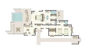 viceroy floor plans luxury st lucia resort residences viceroy sugar beach