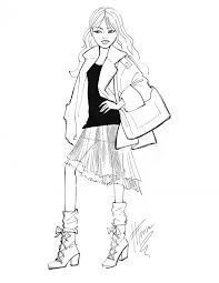 44 best fashion sketches images on pinterest fashion sketches