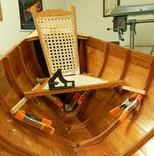 building an adirondack guideboat bow and stern seats