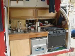 Camper Trailer Kitchen Designs