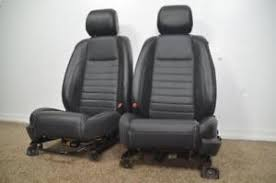 mustang seats ebay 2009 2010 2011 2012 2013 ford mustang gt oem front leather power