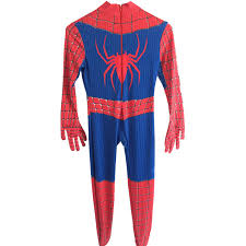 Man Costumes Halloween Aliexpress Buy Amazing Spider Man Suit Kids Cosplay