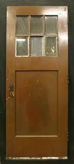 32 X 80 Exterior Door 32 X80 Antique Exterior Birch Door 6 Beveled Glass Lites Windows