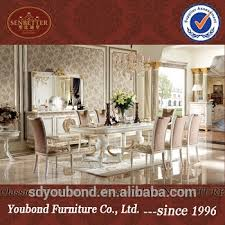 Royal Dining Room 0062w Italian Royal Classic Dining Room Furniture Wooden White