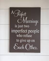 Home Decor Wood Signs Large Wood Sign Farmhouse Sign A Perfect Marriage Subway