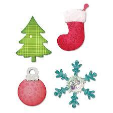 a10599 sizzix bigz die tree ornament snowflake