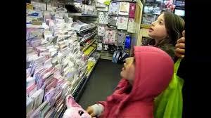 shopping beanie boo choosing hard