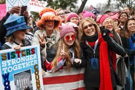 women u0027s march on washington thousands descend on washington d c
