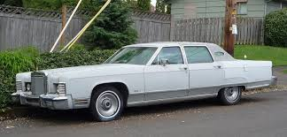 curbside classic 1977 lincoln town car the about cars