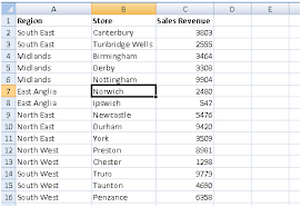 microsoft excel u2013 sorting data by one or more columns