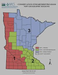 Minnesota Usa Map by Conservation Stewardship Program Nrcs Minnesota