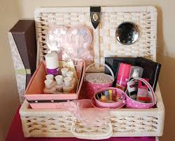 bridal makeup box bridal essentials basket gifts for the giving