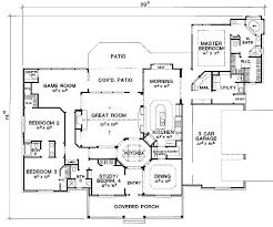 5 bedroom country house plans split bedroom hill country 31066d architectural designs