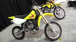 2014 suzuki rm 85 walkaround 2014 st hyacinthe atv show youtube