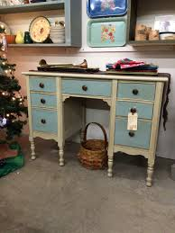 Bedroom Ideas Using Duck Egg Blue Charming Little Desk Painted With Annie Sloan Chalk Paint
