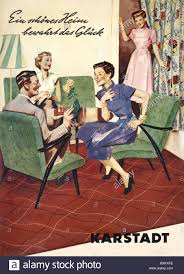 German Living Room Furniture Furniture Living Room Upholstery Germany Circa 1956 1950s