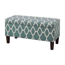 Padded Storage Bench Latitude Run Clare Tokatli Upholstered Storage Bench Reviews