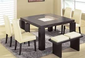 modern dining table setting ideas contemporary large dining table