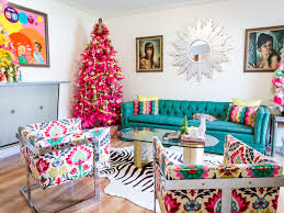 Diy Christmas Tree Topper Ideas Jen Perkins U0027 Colorful Christmas Home Tour Part 2 Blog Treetopia