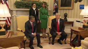 president trump meets with king abdullah ii in the oval office 4 5