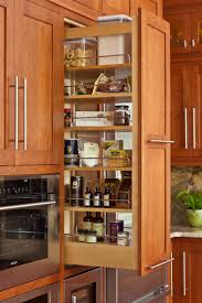 custom cabinetry by martin star pull out pantry cabinet carnes