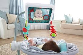 baby needs bouncy seats now come with holders just what baby needs