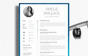 Indesign Resume Template 2017 Indesign Resume Resume For Your Job Application
